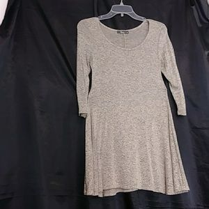 Pinc 3/4 sleeves loose fit dress size S